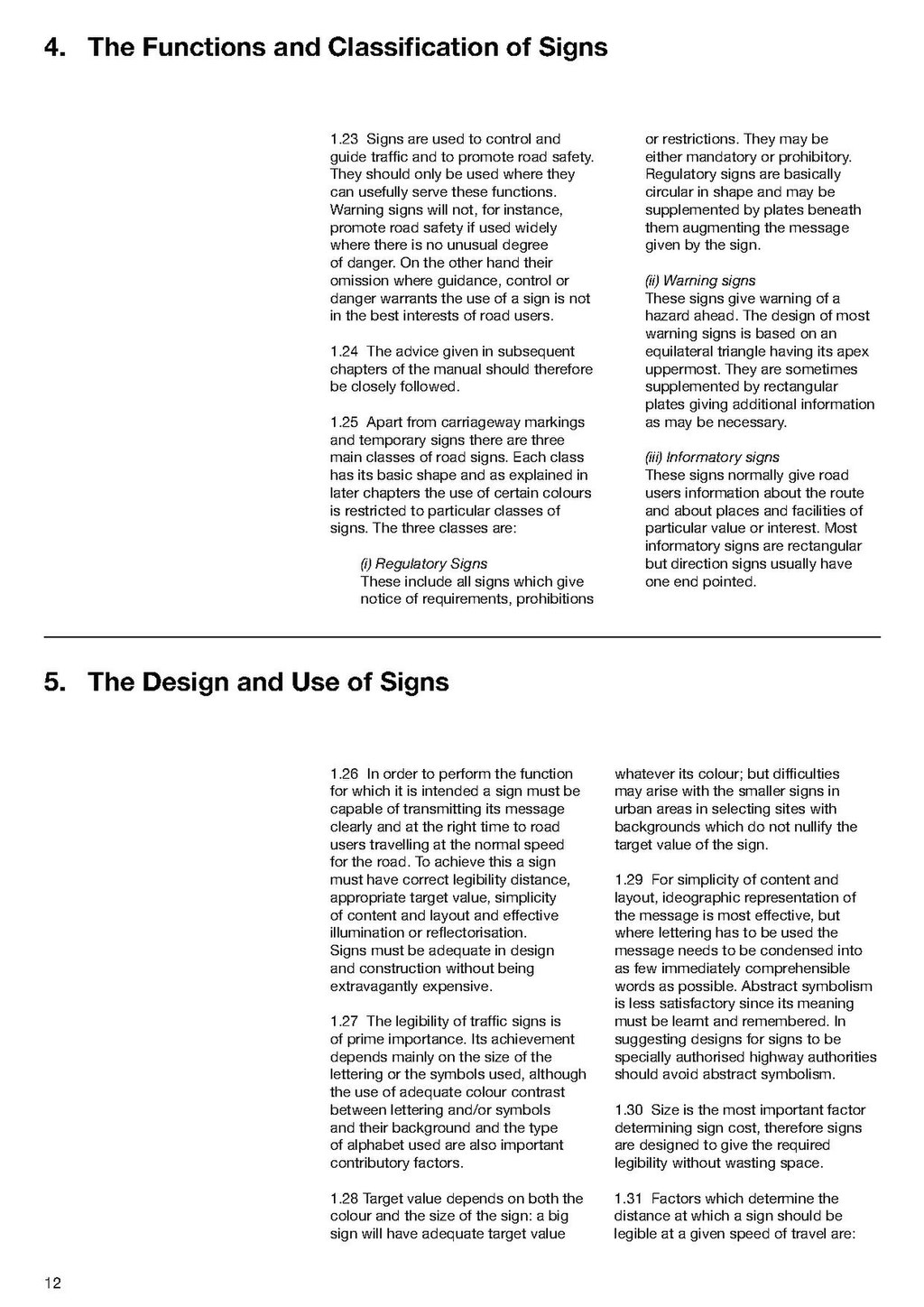 Pageuk Traffic Signs Manual Chapter 1 1982 Amended To 2004pdf14
