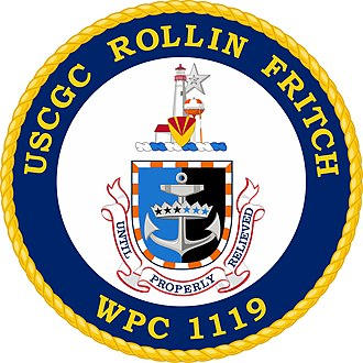 USCGC Rollin A. Fritch - Image: USCGC Rollin Fritch (WPC 1119) Co A