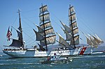 USCG Barque Eagle and USCG Auxiliary Vessel Silver Charm DVIDS1106793.jpg