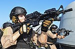 USCG enforcement specialists on USS Monterey (CG-61) 2013.JPG