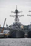 USS Benfold (DDG-65) front view at U.S. Fleet Activities Yokosuka April 30, 2018.jpg