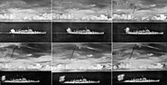 USS Canberra (CAG-2) Terrier missile launch sequence 1960