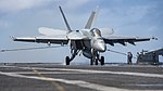 USS Carl Vinson conducts flight operations. (32477071902).jpg