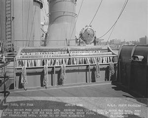 USS North Carolina signal bridge NARA BS 26770.jpg
