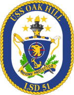Crest of the USS Oak Hill