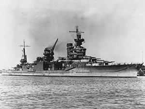 USS Portland (CA-33) - Image: USS Portland (CA 33) at Pearl Harbor 1942