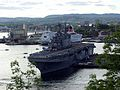 USS Saipan visiting Oslo 7jun2005.jpg
