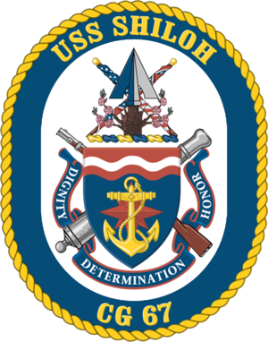 USS Shiloh (CG-67) - Crest of USS Shiloh