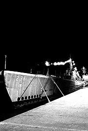 USS Silversides night