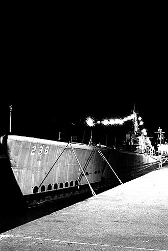 Muskegon, Michigan - USS Silversides (SS-236) at The USS Silversides Submarine Museum, Muskegon, Michigan