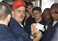 US Navy 030324-N-8935H-001 Chemical contamination indicator kit training.jpg