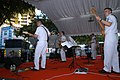 US Navy 050603-N-0493B-002 The Seventh Fleet Band performs at the Singapore Street Festival.jpg