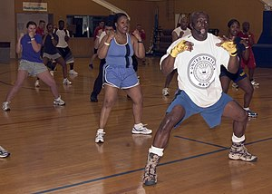 Billy Blanks - Blanks in US Military Base in Yokosuka, Japan in April 2006