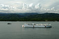 US Navy 060529-N-6501M-060 The Military Sealift Command (MSC) hospital ship, USNS Mercy (T-AH 19), is anchored off of the coast of Zamboanga City, during its one week visit.jpg