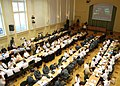US Navy 100605-O-9999W-002 Participants of the 38th iteration of Baltic Operations (BALTOPS) attend the pre-sail conference at the Polish Naval Academy to discuss upcoming exercise events.jpg