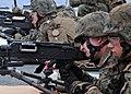US Navy 101006-N-8113T-012 Marines participate in an M-240 machine gun qualification aboard USS Denver (LPD 9).jpg