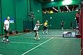 US Senior International Badminton Tourney (Miami) - MX 60 Final - Ian & Sanne def Curt & Susan 21-16, 11-21 & 21-9 (16648788082).jpg