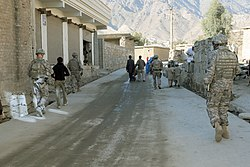 US soldiers patrolling the streets of Asadabad-5.jpg