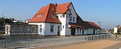 Ueckeritz UBB train station