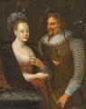 Ukendt kunstner - Kirsten Munk og Christian IV.png