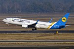 Ukraine International Airlines, UR-PSX, Boeing 737-8EH (39427147114).jpg