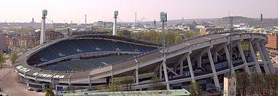 The Ullevi Arena in central Gothenburg