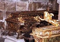 Ulrica Eleanor of Sweden (1680) grave 2007.jpg