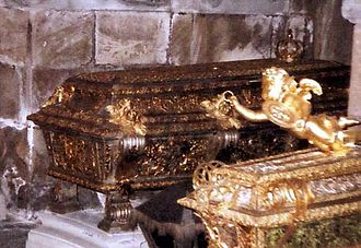 Ulrika Eleonora of Denmark - Ulrica Eleanor's coffin in Riddarholm Church