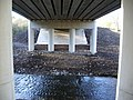 Underneath bridge over River Yarrow, Chorley, Lancs - geograph.org.uk - 630952.jpg