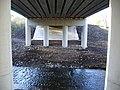 Underneath bridge over River Yarrow, Chorley, Lancs - geograph.org.uk - 630952.jpg