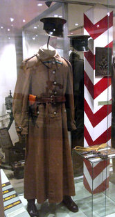Uniform of soldier of Polish Korpus Ochrony Pogranicza (KOP), before 1939.PNG
