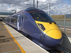 "Thanet - Thanet is now linked to London by high-speed ""Javelin"" trains."