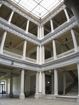 Istanbul University - Interior of the main building