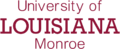 University of Louisiana at Monroe wordmark.png