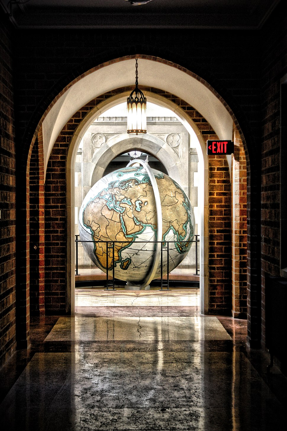 University of Notre Dame Hallway