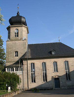 Lautertal, Bavaria - Protestant church