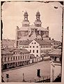 Uppsala cathedral - photo of the cathedral from before 1886.jpg
