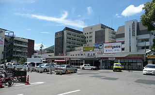 Urakami Station Railway station in Nagasaki, Nagasaki Prefecture, Japan
