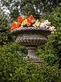 Urn planter at Easton Lodge Gardens, Little Easton, Essex, England 1.jpg