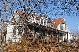 Elmwood Park, New Jersey - Van Houten-Hillman House