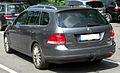 VW Golf V Variant TDI rear 20100711.jpg