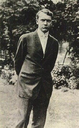 Vachel Lindsay - Vachel Lindsay in 1912