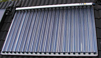 Solar thermal collector - Evacuated tube collector