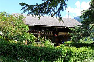 Val-d'Illiez - Image: Val d'Illiez, maison d'habitation, vue d'ensemble