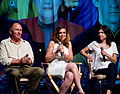 Vaughn Armstron Chase Masterson Nicole de Boer Star Trek Convention Las Vegas 20110812 1.jpg