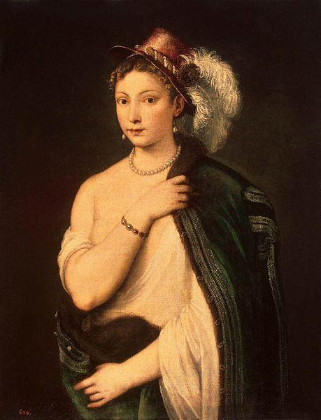 Ficheiro:Vecelli, Tiziano - Ritratto di giovane donna - c. 1536.jpg