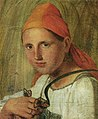 Venecianov Aleksej Gavrilovic 1780 1847 Baeuerin mit Schmetterling.jpeg