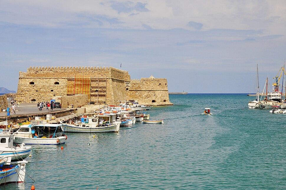 Venetian Fortress of Koules in Heraklion, Crete 003