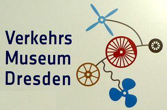 Dresden Transport Museum - Image: Verkehrsmuseum logo