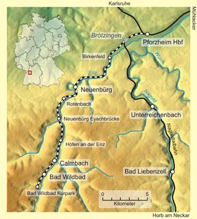 Enz Valley Railway railway line